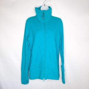 LULULEMON In Stride jacket in teal